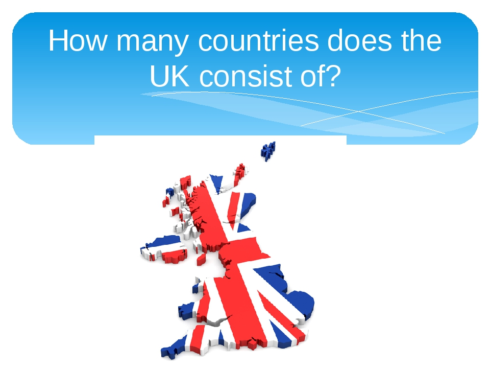 How many countries does the UK consist of?