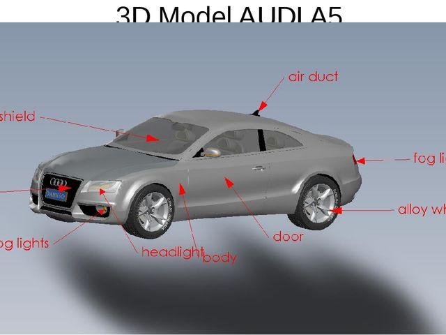 3D Model AUDI A5
