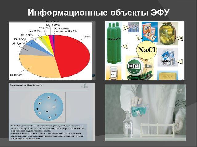 Информационные объекты ЭФУ