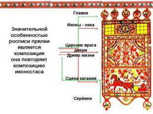Иконы - окна Царские врата двери Древо жизни Сцена катания Главки Серёжки Зна
