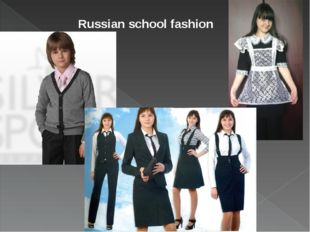Russian school fashion