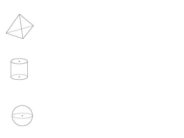 4. Проекции пирамиды 5. Проекция цилиндра 6. Проекция шара: