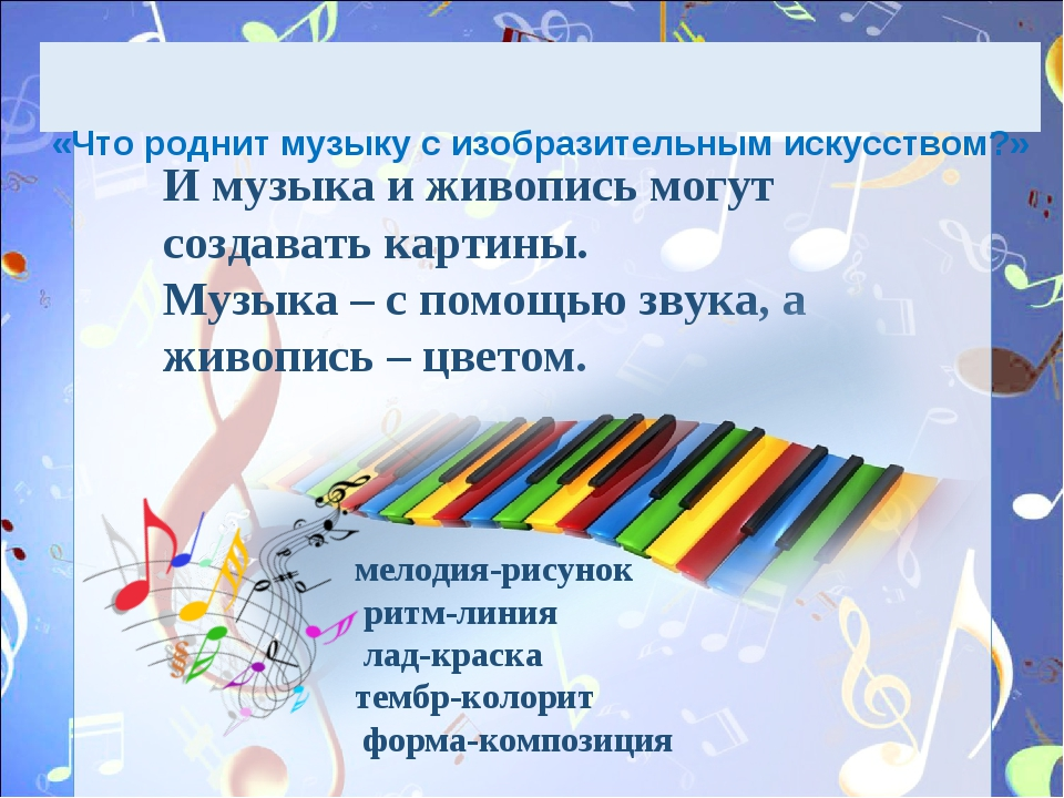 Что роднит музыку с литературой доклад 6584