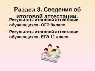 Раздел 4.Работа с одаренными детьми. Участие в олимпиадах по биологии Участие