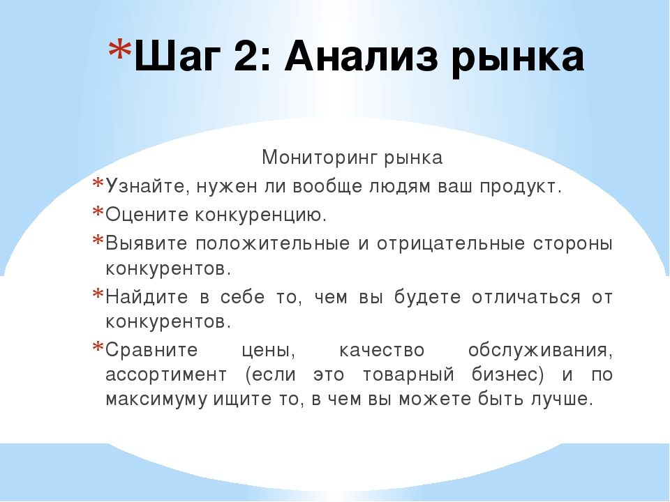 Шаг 2: Анализ рынка Мониторинг рынка Узнайте, нужен ли вообще людям ваш проду...