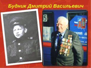 Будник Дмитрий Васильевич