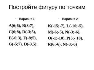 A B C D F Найдите ошибки А(4;-4) B(3;4) С(2;8) D(7;-2) F(-3;3) А(-4;4) B(3;2)