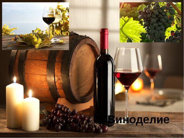 Виноделие