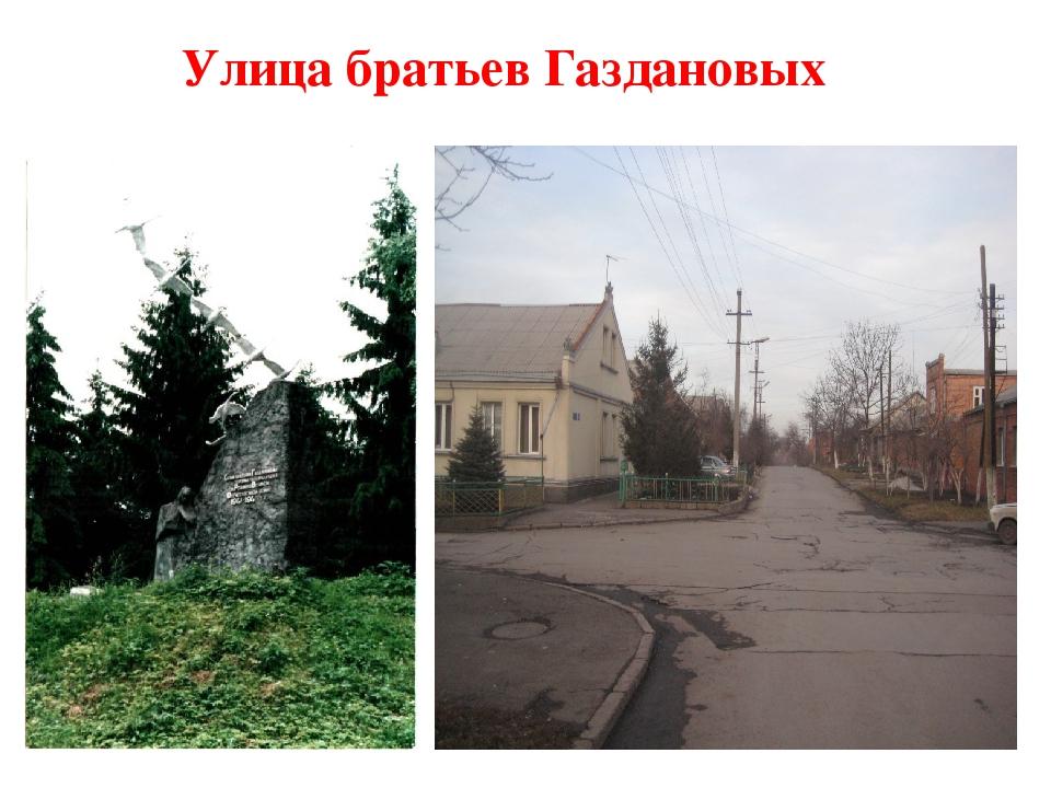 Улица братьев Газдановых