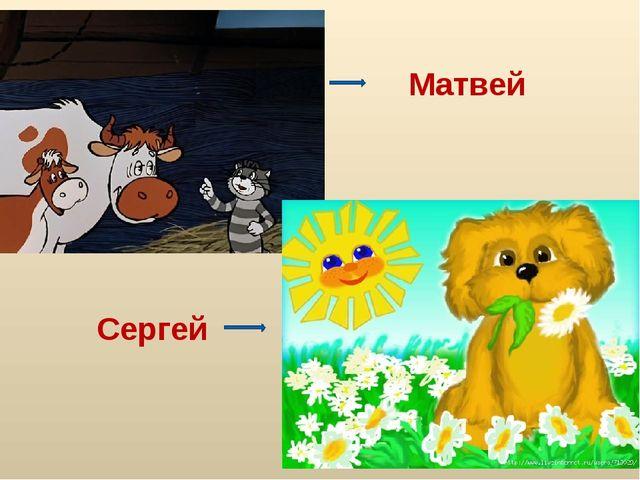 Сергей Матвей