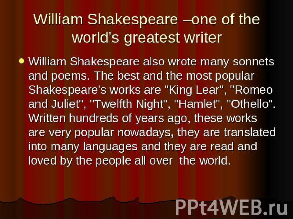 william shakespeare about othello english literature essay The most influential writer in all of english literature, william shakespeare was born in 1564 to a successful middle-class glove-maker in stratford-upon-avon, england shakespeare attended grammar school, but his formal education proceeded no further.