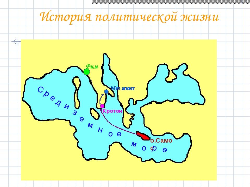 Метапонт История политической жизни