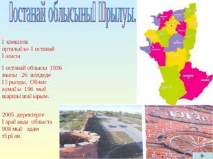 Қостанай облысы 1936 жылы 26 шілдеде құрылды. Облыс аумағы 196 мың шаршы шақы