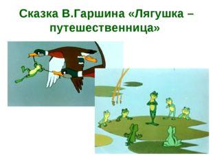 Сказка В.Гаршина «Лягушка – путешественница»