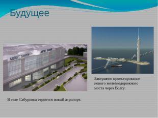 Будущее В селе Сабуровка строится новый аэропорт. Завершено проектирование но