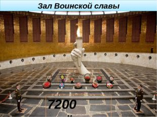 Зал Воинской славы 7200 имён