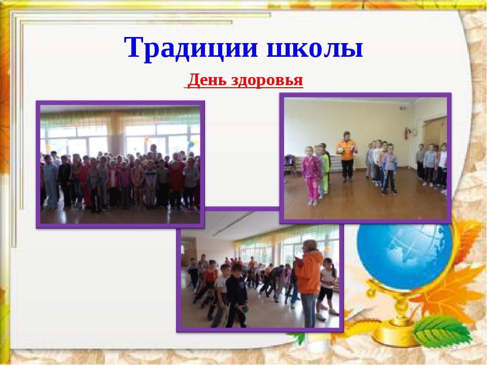 Традиции школы День здоровья *