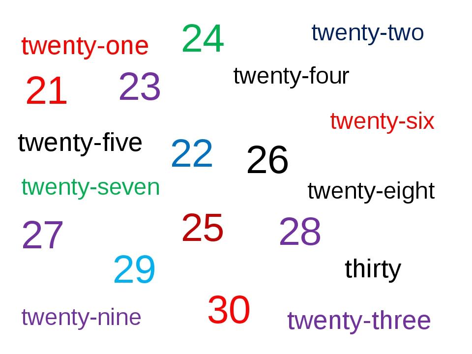 twenty-one twenty-two twenty-four twenty-five twenty-six twenty-seven twenty-...