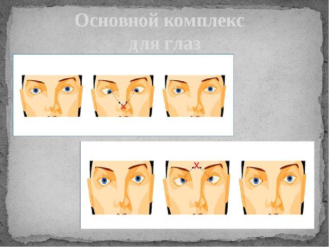 Основной комплекс для глаз