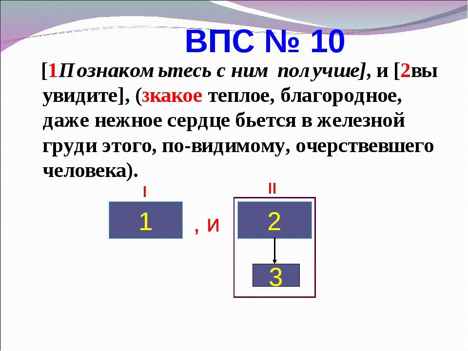 ВПС № 10 [1Познакомьтесь с ним получше], и [2вы увидите], (3какое теплое, бл...