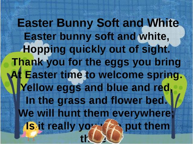 Easter Bunny Soft and White Easter bunny soft and white, Hopping quickly ou...
