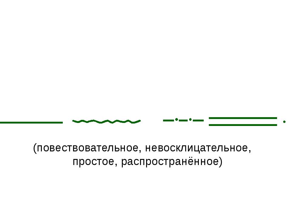 (повествовательное, невосклицательное, простое, распространённое) Листья ле...
