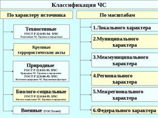 По характеру источника Природные ГОСТ Р 22.0.03-95. БЧС Природные ЧС. Термины