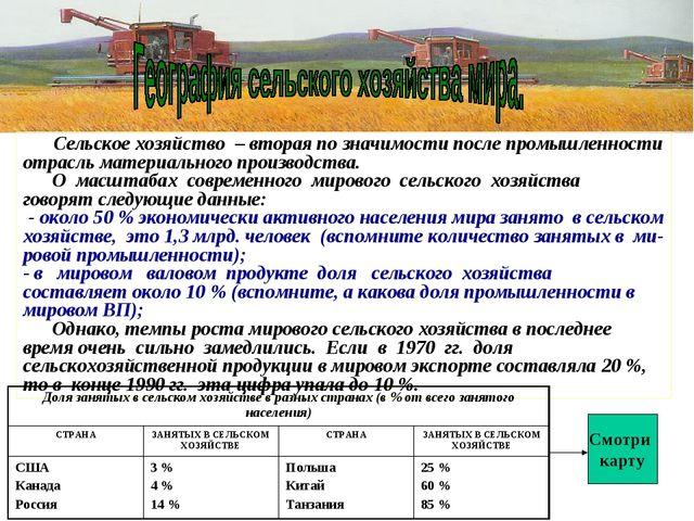 Сколько населения занято в сельском хозяйстве