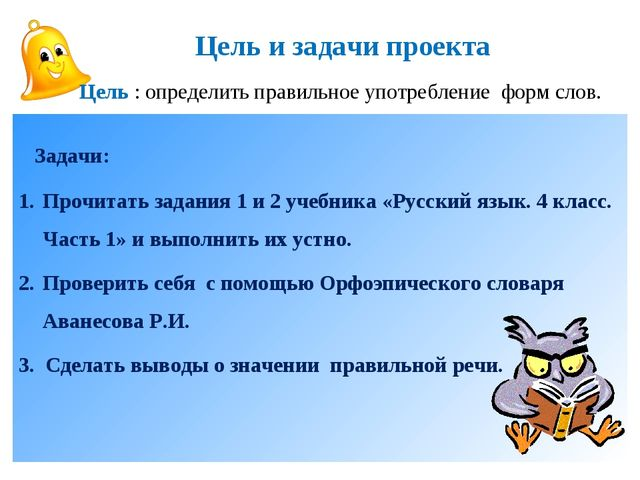 Задачи: Прочитать задания 1 и 2 учебника «Русский язык. 4 класс. Часть 1» и...