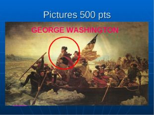 Pictures 500 pts What is Steve Bennett obsessed with? GEORGE WASHINGTON