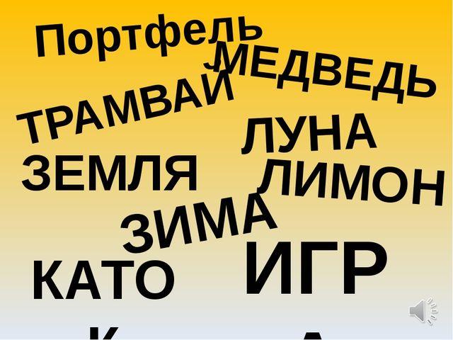 Портфель МЕДВЕДЬ ТРАМВАЙ ЛУНА ЗЕМЛЯ ЛИМОН ЗИМА КАТОК ИГРА