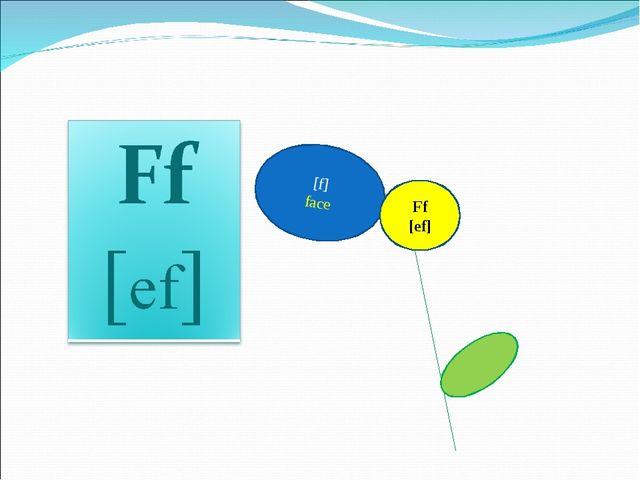 [f] face Ff [ef]