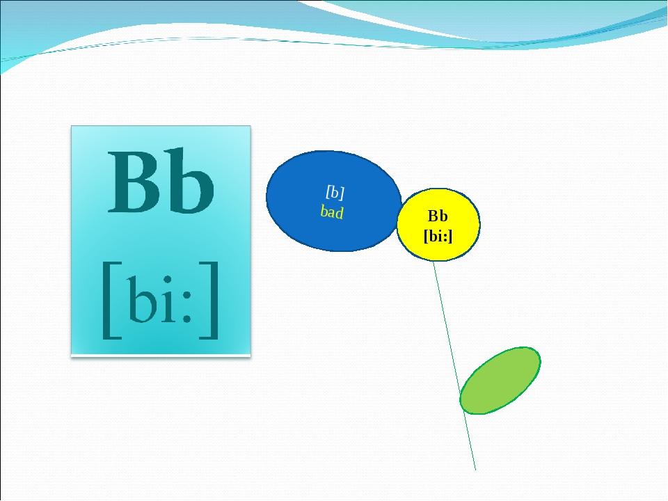 [b] bad Bb [bi:]