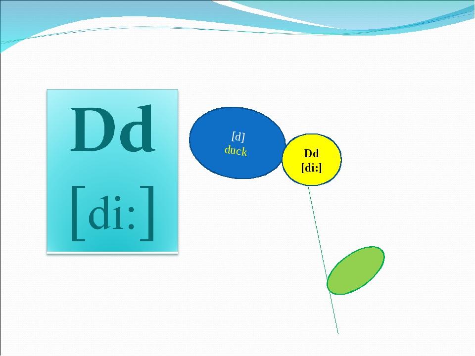 [d] duck Dd [di:]