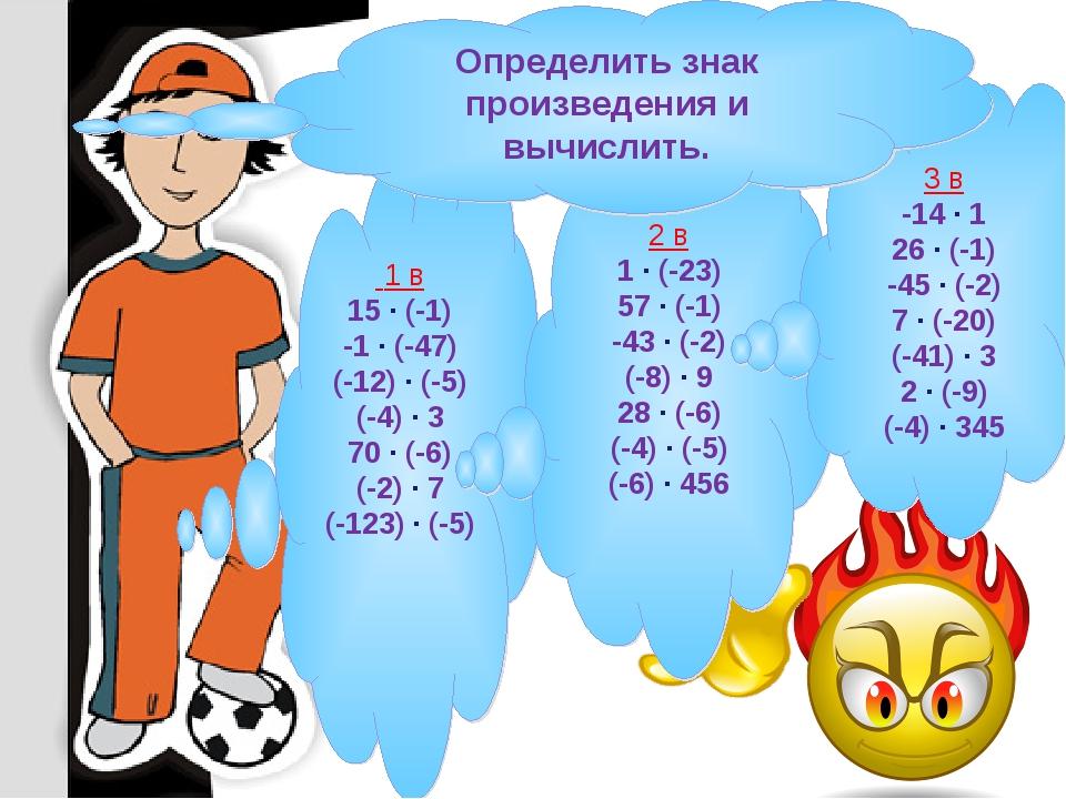 1 в 15 · (-1) -1 · (-47) (-12) · (-5) (-4) · 3 70 · (-6) (-2) · 7 (-123) · (...
