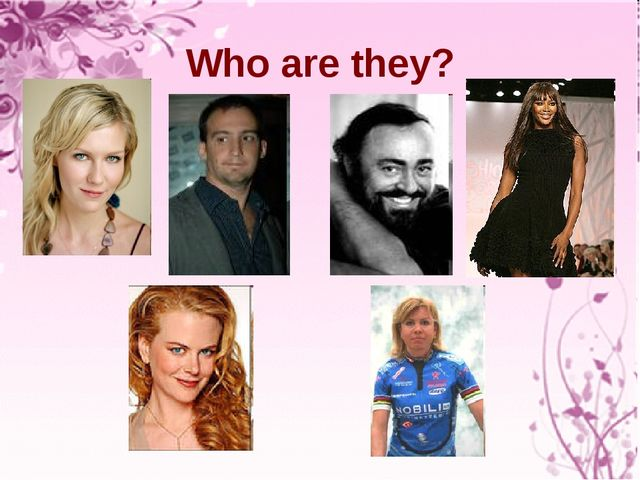 Who are they?