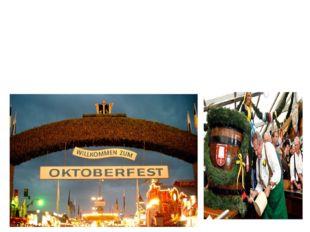 Das Oktoberfest ist das größte Volksfest der Erde in München.