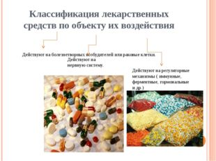 Антибиотики Антибиотики – лекарственные средства, способные подавлять развити