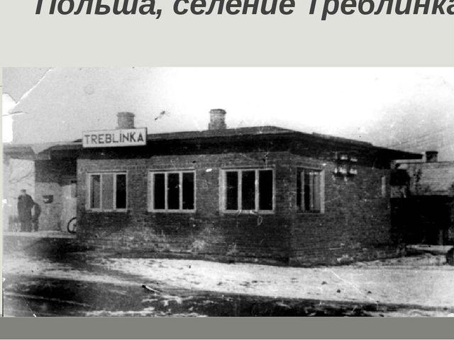 Польша, селение Треблинка