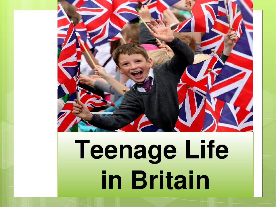 Teenage Life in Britain