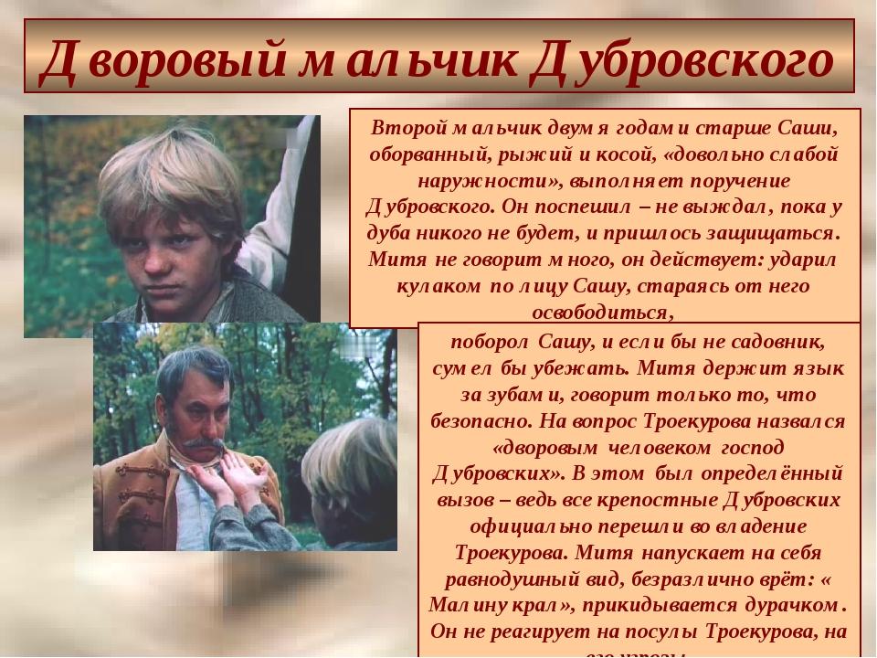 Каким Предстаёт Вл. Дубровский При Первом Знакомстве