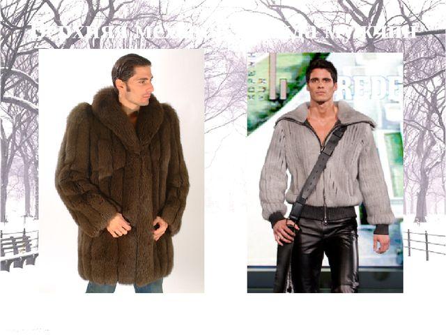 Ассортимент меховых товаров Жилет Манто Верхняя меховая одежда мужчин