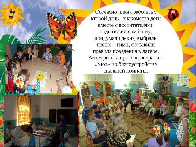 Согласно плана работы во второй день знакомства дети вместе с воспитателями п...