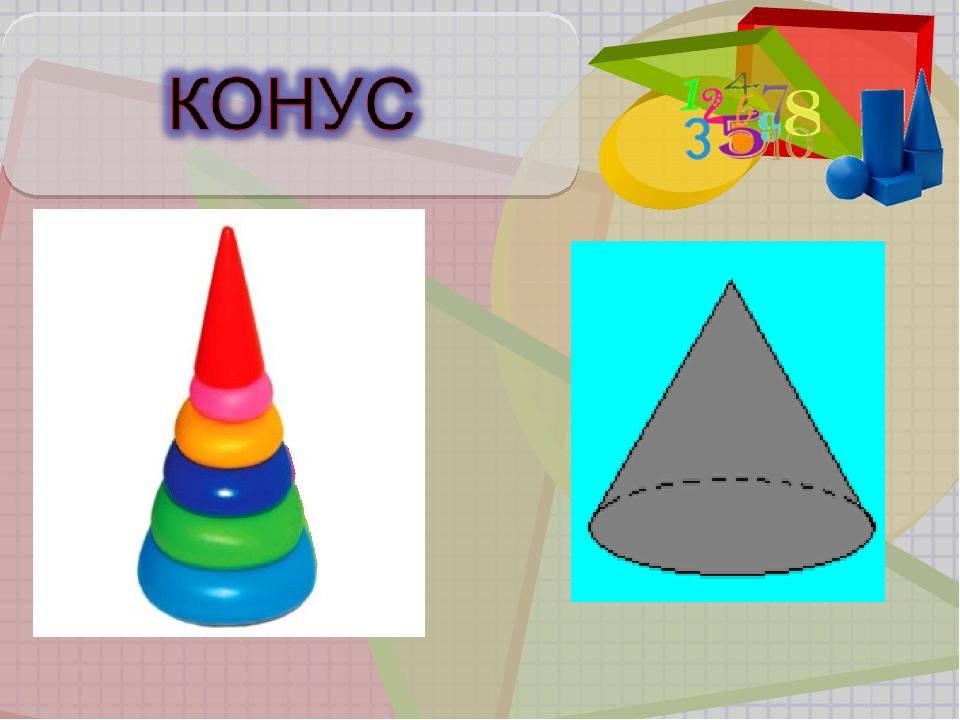 Картинки цилиндр пирамида конус цилиндр