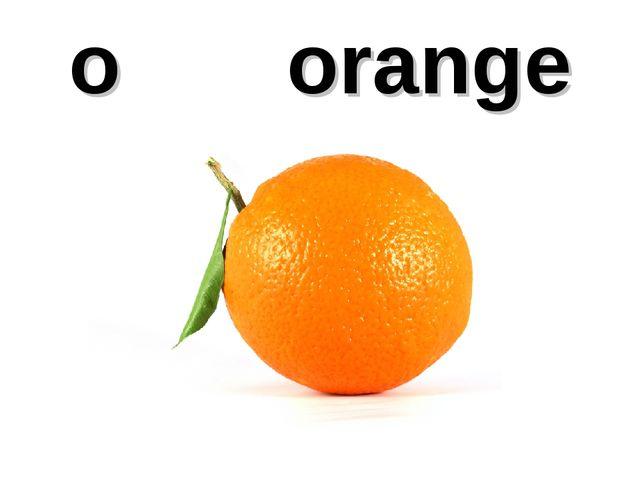o orange