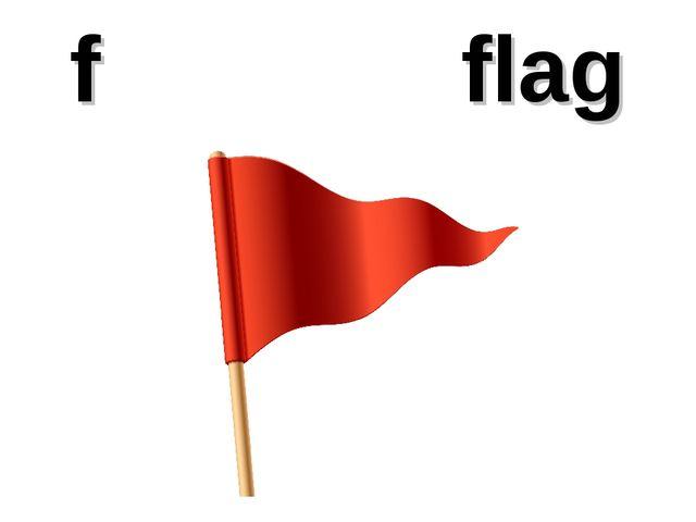 f flag