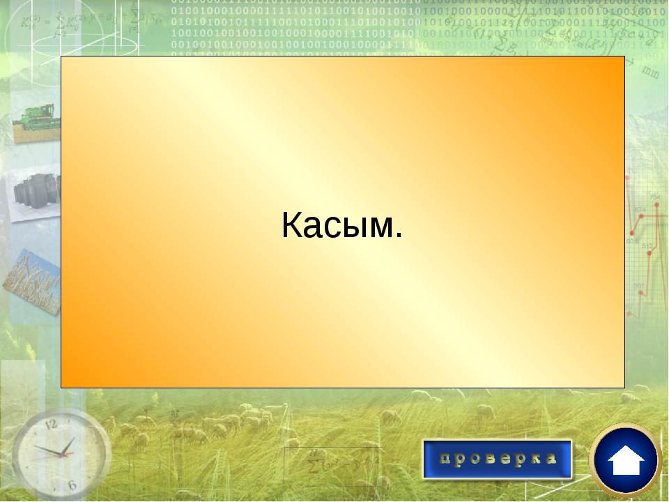 Имя Казахского хана при котором Казахское ханство достигло своего расцвета? К...