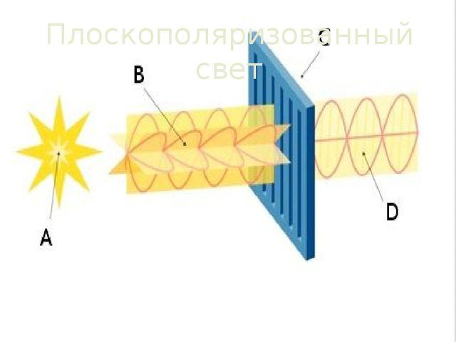 Плоскополяризованный свет
