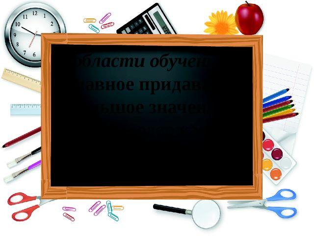 В области обучения – главное придавать большое значение отбору содержания уче...