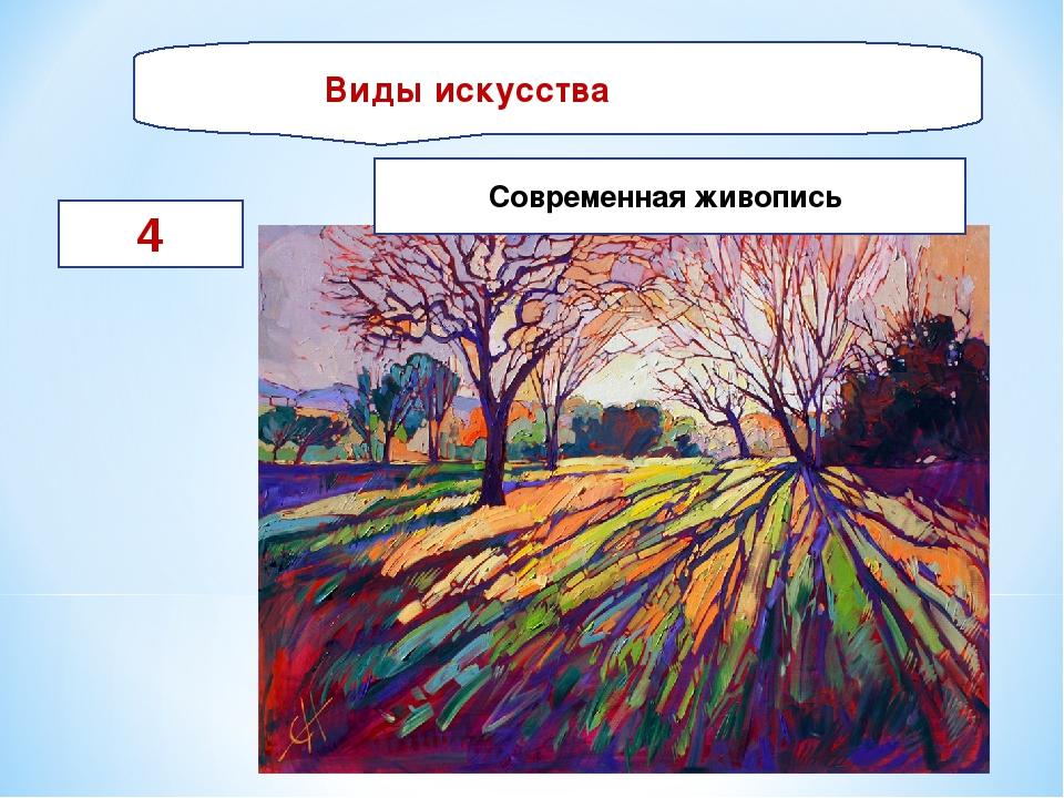 Виды искусства 4 Современная живопись